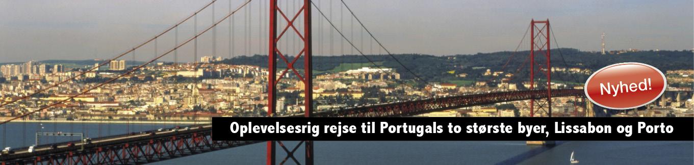 Portugal, Lissabon og Porto