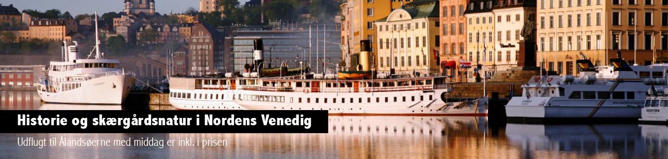 Stockholm - Ålandsøerne