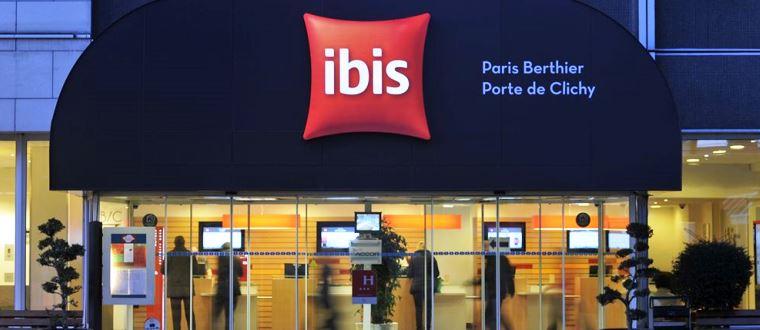Hotel ibis paris berthier porte de clichy - Porte de clichy restaurant ...