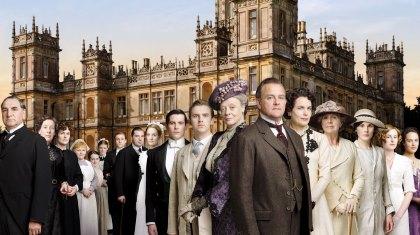 I fodsporerne på Downton Abbey