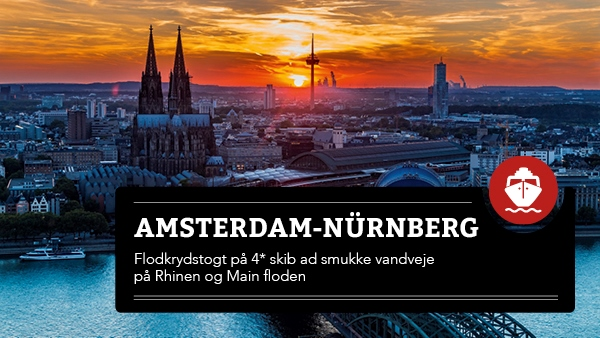 Amsterdam - Nürnberg flodkrydstogt