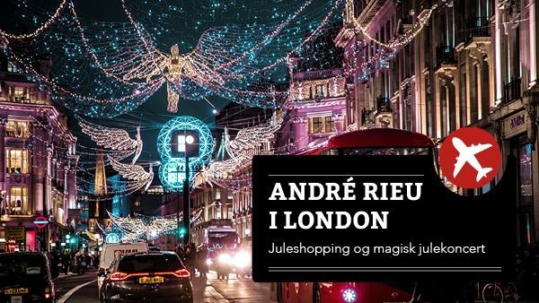 André Rieu og juleshopping i London