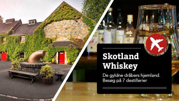 Skotland - Whisky tur