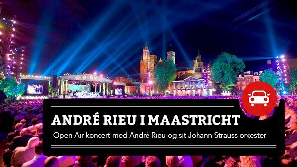 André Rieu i Maastricht - Kør selv