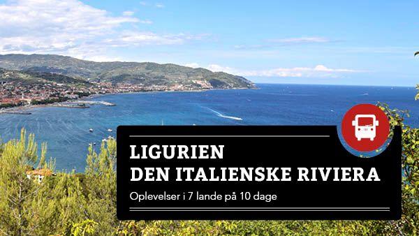 Ligurien - Den italienske Riviera