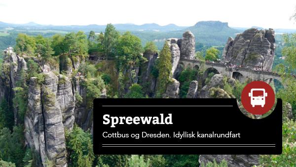 Spreewald, Dresden og Berlin