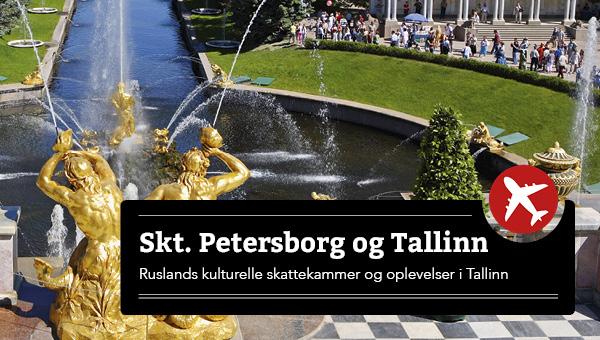 Skt. Petersborg - Oplev storbyerne Stockholm, Helsinki og Tallinn undervejs - FLY