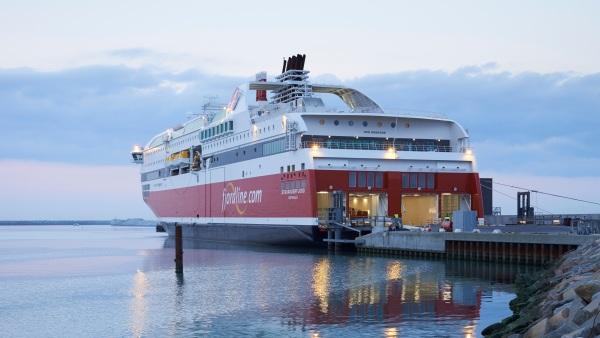 Med Club Nord ombord på MS Bergensfjord i Hirtshals