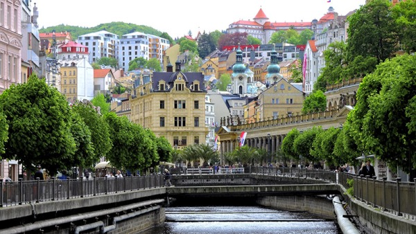 Karlsbad i Tjekkiet